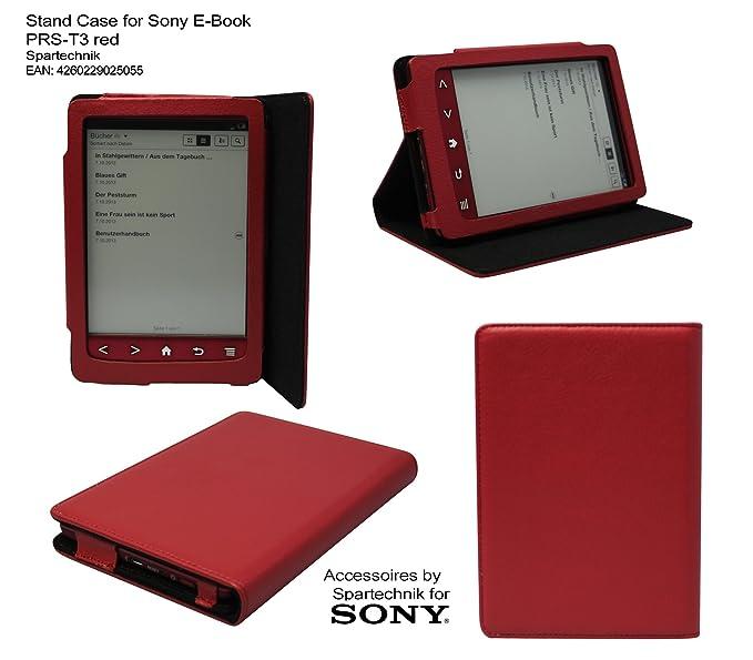 Spartechnik - Funda tipo libro para Sony PRS-T3, color blanco ...