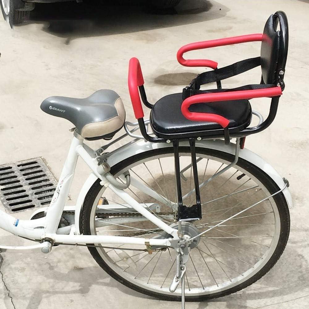 QXFJ Asiento Bicicleta NiñO,Asiento Trasero De Bicicleta Asiento ...
