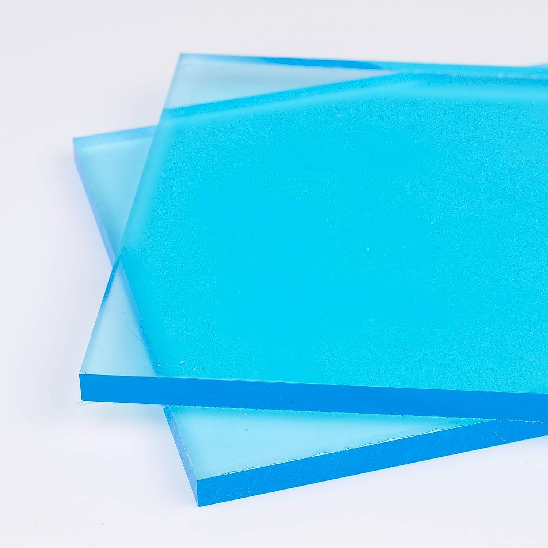 Glasklare Platte in 750 x 500 mm DOLLE Acrylglas XT PMMA | Zuschnitte |St/ärke 6 mm Kanten unbearbeitet F/ür Innen und Au/ßen UV-Stabil