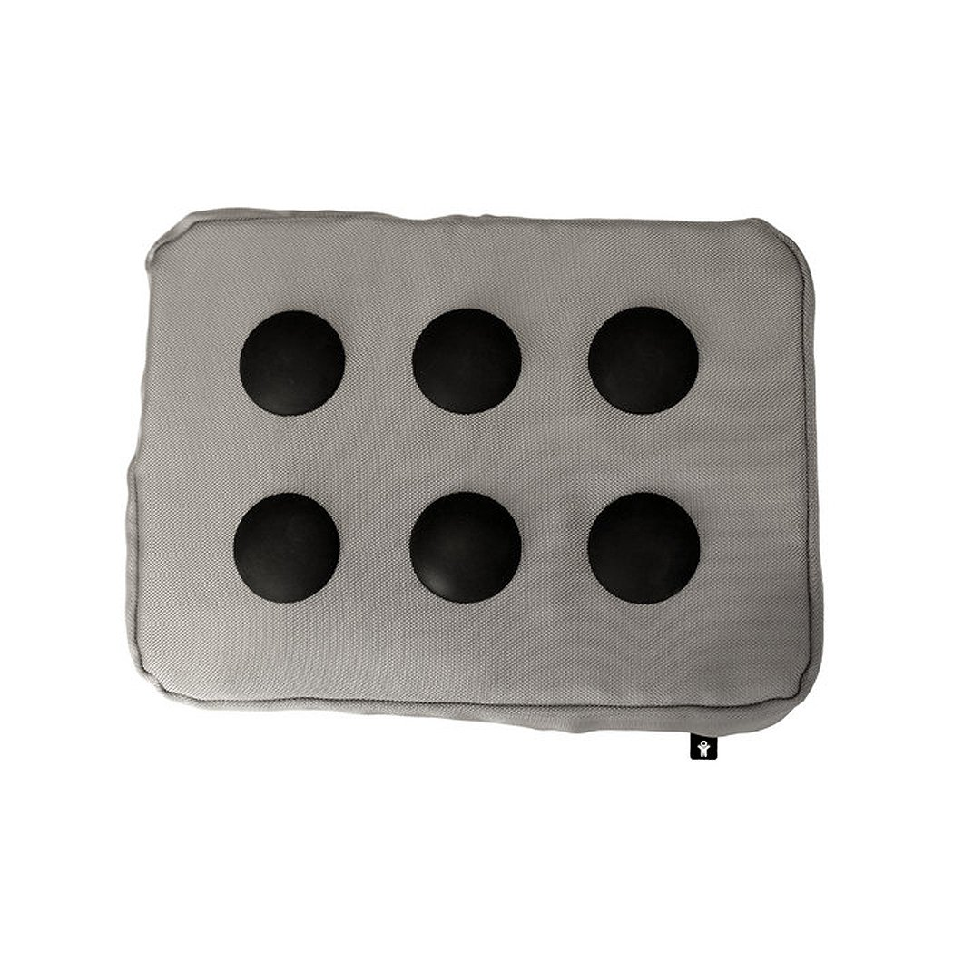 Bosign Surfpillow Hitech Shapeable Cushioned Laptop Lapbag, Silver by Bosign (Image #2)