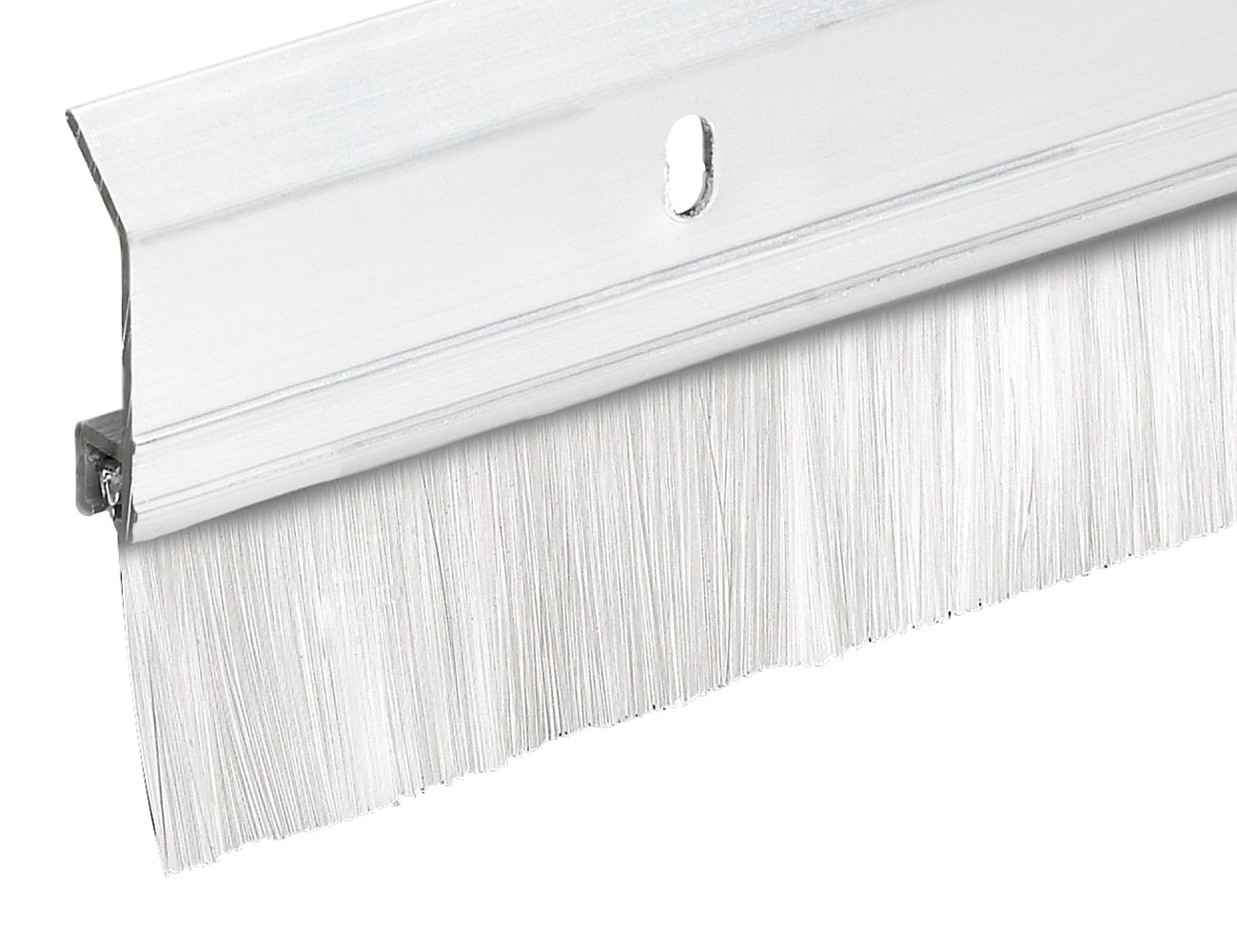 Frost King SB36W 2'' x 36'' Extra Aluminum/Brush Door Sweep, White