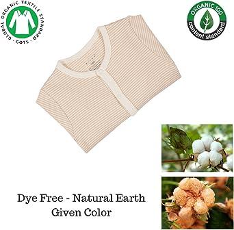 Niteo bebé algodón orgánico Snap Frente Mono - Marrón -: Amazon.es: Ropa y accesorios