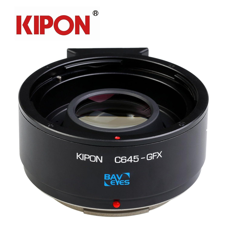 Kipon Optik Adapter Focal Reducer Fr Contax Kamera Nikon G Lens To Fujifilm Gfx Camera