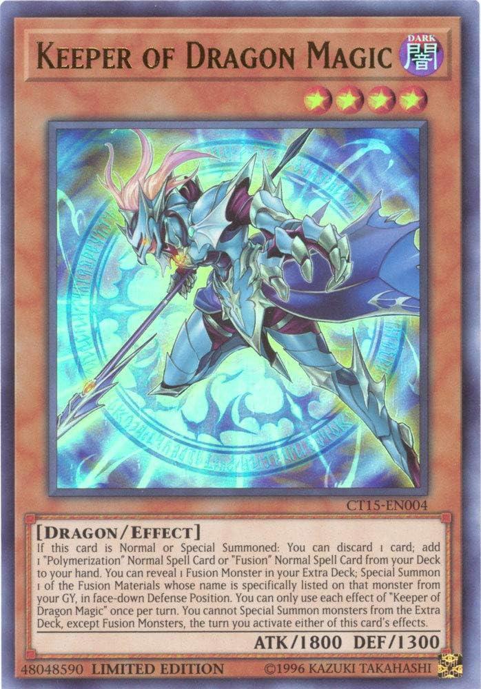 TOCH-EN041 Keeper of Dragon Magic Rare 1st Edition Mint YuGiOh Card