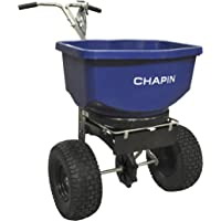 Chapin 82108 100-Pound Professional Salt and Ice Melt Spreader