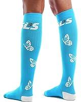 Compression Socks for Women Graduated (20-30mmHg) - Best For Running, Travel, Nurses, Maternity Pregnancy, Shin Splints, Calf and Leg Pain- Below Knee High Socks.