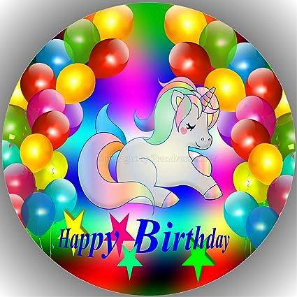Tortenaufleger -zum Geburtstag mit Foto--Geburtstag---Fondant ////Oblate