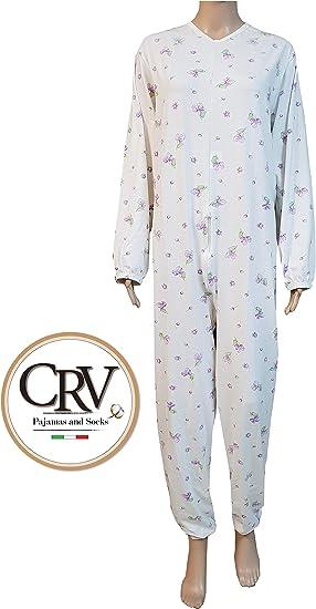 Pijama tutón sanitario para ancianos hombre mujer verano 100 ...