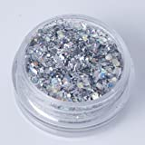 Mixed Chunky Face Eye Body Glitter Festival Clubbing Dance (Silver)