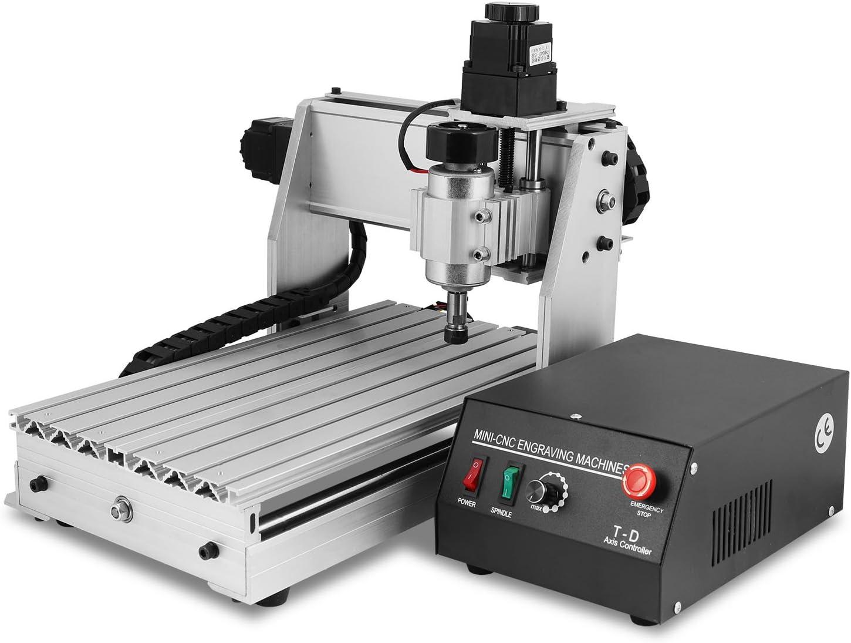 Cueffer CNC 3040T Máquina de Grabado Máquina Grabadora de 3 Ejes máquina del grabador de 4MM para Vidrio Metal Piedra Madera Engraving Machine (3040T 3 Ejes)