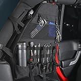 ジープJKラングラーアンリミテッド4ドア(2パック) ロールバー収納ボックス ロールケージ マルチポケット 収納 カーゴバッグ サドルバッグ