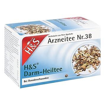 H&S Darm-Heiltee Nr. 38 - Filtros para cafeteras (20 unidades ...