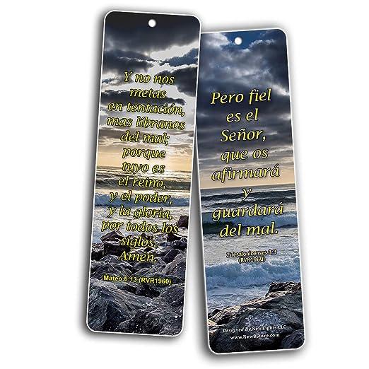 Amazon.com: Español 12 Potentes Escrituras - RVR1960 (60 ...
