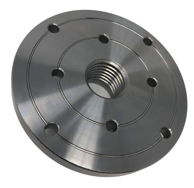"2/"" HD Steel Wood Lathe Face Plate 1/"" x 8tpi Threaded"