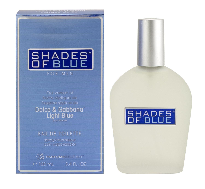 Amazon.com   PB Parfums Belcam Shades of Blue Version of Light Pour Homme  Eau de Toilette Spray for Men, 3.4 Fluid Ounce   Beauty 74976b11aeff