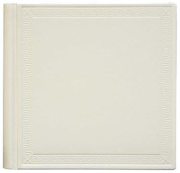 Innova Q609935 Album Photo Traditionnel de 60 Pages Cuir Noir 36x36