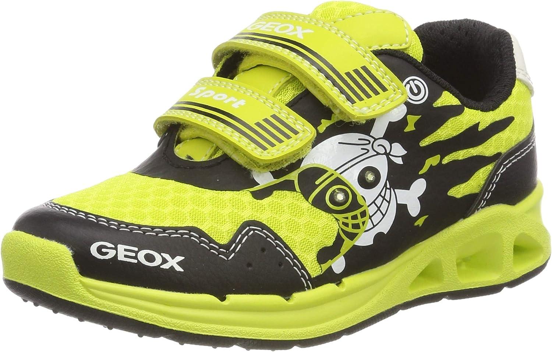 Geox J Dakin Boy B, Zapatillas para Niños, Amarillo (Lime/Black C3707), 25 EU: Amazon.es: Zapatos y complementos