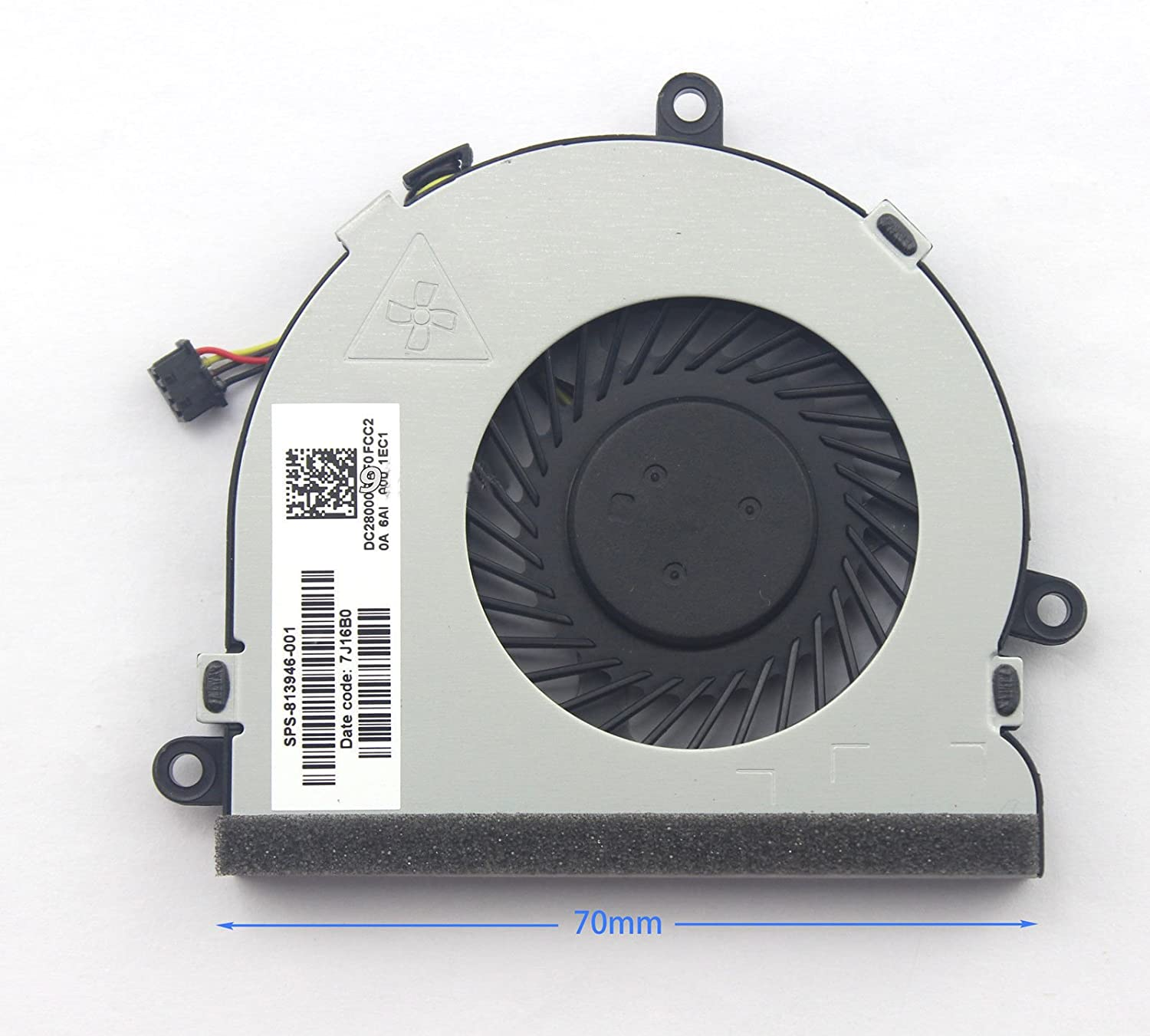 New Cpu Cooling Cooler Fan For HP 15-BA 15-ba008ca 15-ba009dx 15-ba010nr 15-ba013cl 15-ba138ca 15-ba140ca 15-ba113cl