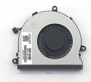 New Cpu Cooling Cooler Fan For HP 15-BA 15-ba008ca 15-ba009dx 15-ba010nr 15-ba013cl 15-ba138ca 15-ba140ca 15-ba113cl
