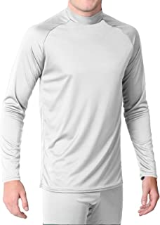 product image for WSI Microtech Form Fit Long Sleeve Shirt, White, Medium