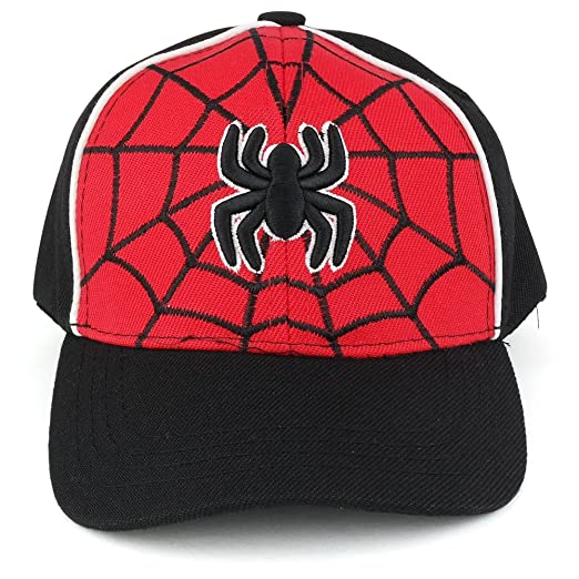 Trendy Apparel Shop Infant s Spider and Web 3-D Embroidery Structured Baseball  Cap - Black 57a15f8dd97