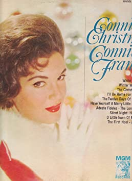 Connie Francis The Twelve Days Of Christmas.Connie Francis Connie S Christmas Amazon Com Music