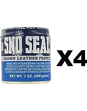 Atsko SNO-Seal Original Beeswax Waterproofing Leather Protector, 7 oz