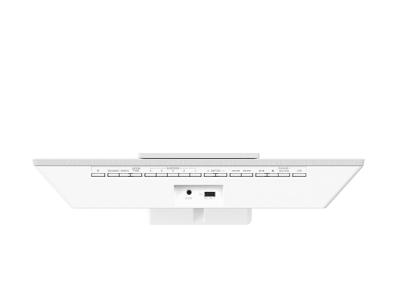 Microcadena compacta Amplificador Digital LincsD-Amp, CD, Radio y Bluetooth, 40 W, dise/ño de Montaje Mural Panasonic SC-HC400EG-A Azul