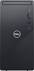 2021 Newest Dell Inspiron Desktop 3880, Intel 6-Core i5-10400 up to 4.3 GHz, 16GB Memory, 256GB SSD (Boot) + 1TB HDD, Wireless-AC, HDMI, VGA, Bluetooth, Win10 Home, Black