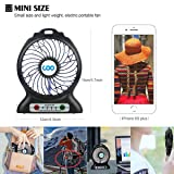 COO Portable Fan, USB Rechargeable Fans with