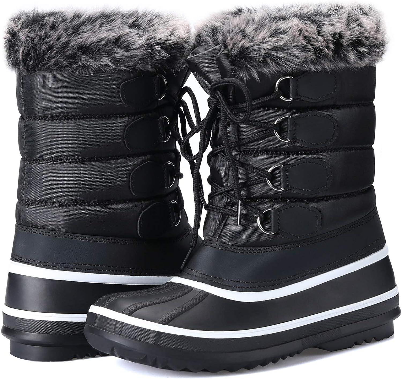 mysoft Women's Waterproof Winter Boots