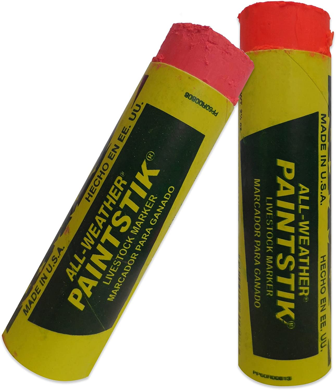 Sheep and Pigs /& Tigerbox/® Antibacterial Pen. All Weather Paintstik Fluoro Orange Livestock Marker for Cattle
