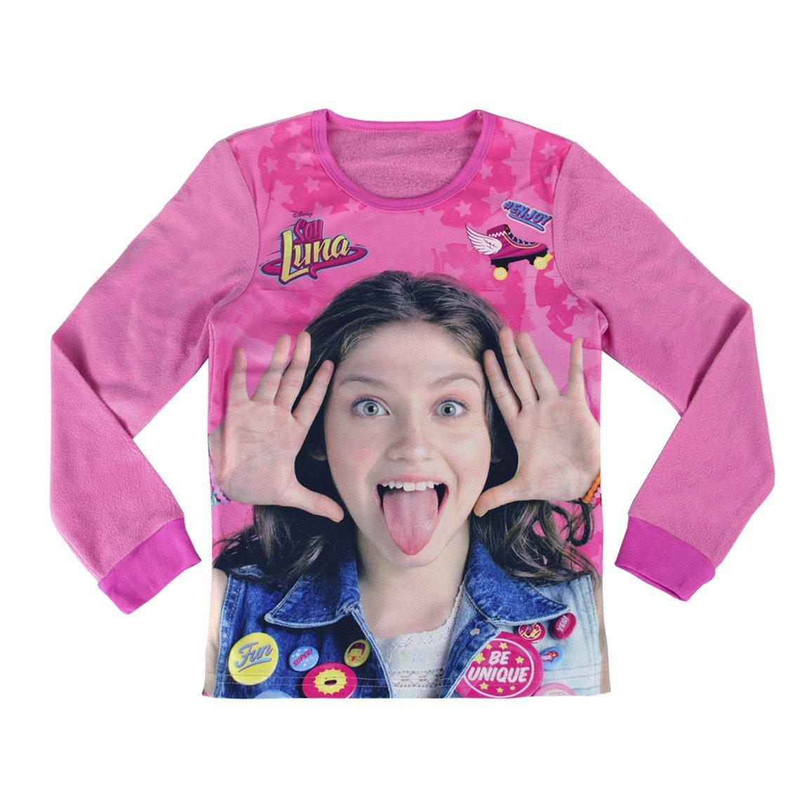 SOY LUNA pijama manga larga 2 piezas interlock 100% algodón (6 años): Amazon.es: Ropa y accesorios