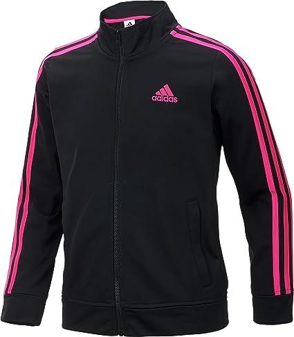 6caf953c620c1 Amazon.com: adidas Girls' Warm Up Tricot Jacket: Sports & Outdoors