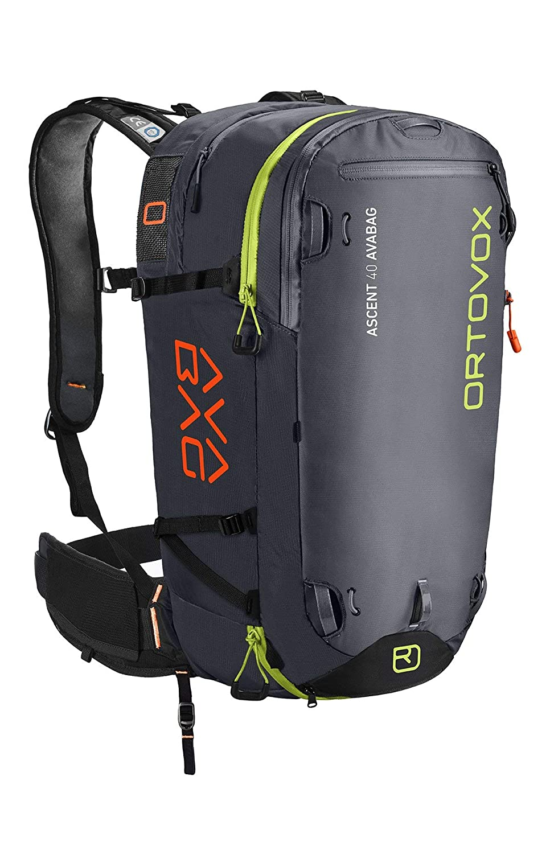 Ortovox Mens Ascent 40 Avabag Black Anthracite 40 Liter