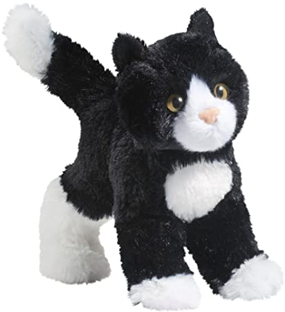 Amazon Com Cuddle Toys 4092 20 Cm Long Snippy Black And White Cat