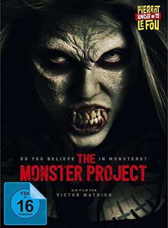 The Monster Project uncut - Limited Edition Mediabook Blu-ray + DVD ...