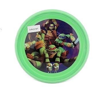 Amazon.com: Teenage Mutant Ninja Turtles 2 Pack Plate Set: Baby