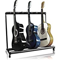 Best Choice Products 7 Multi Guitar Bass Folding Stand Stage 7 Holder Rack Guitar Stand