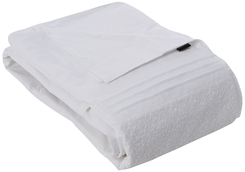 400926-100FR Aylin Essenza-001-Funda de edredón algodón, 200 x 140 cm, color blanco 400926-100FR-001