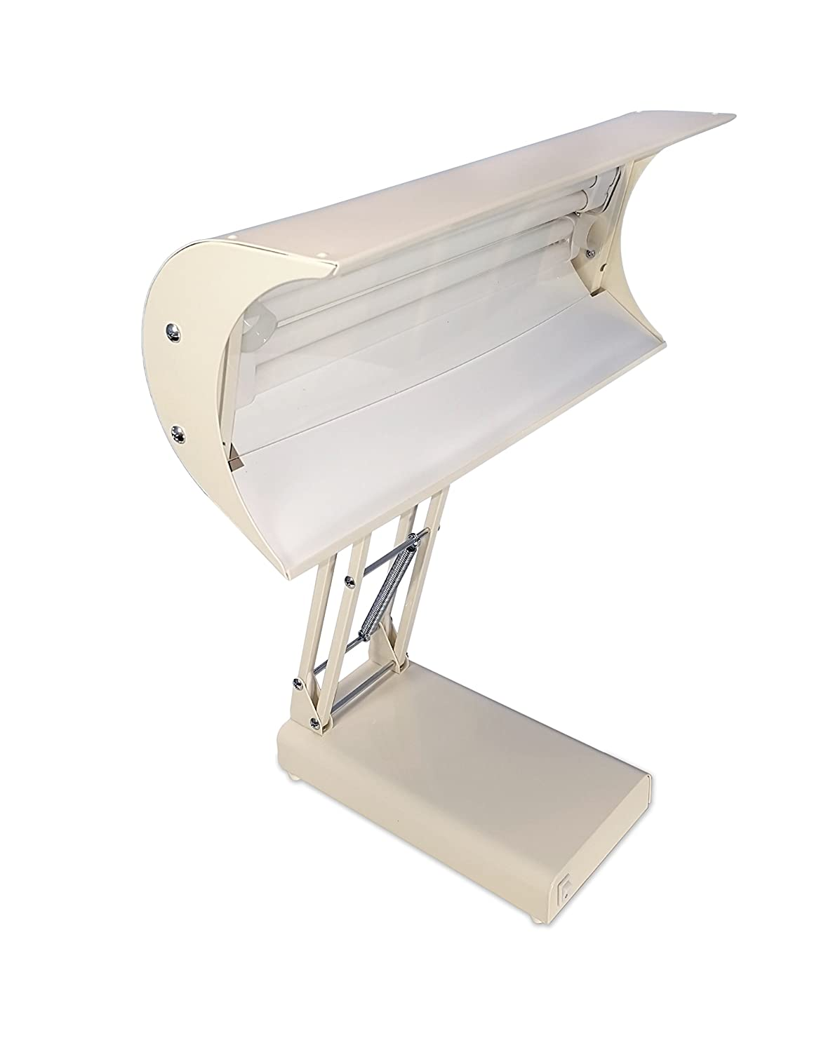 Northern Light 10,000 Lux Bright Light Therapy Desk Lamp, Beige