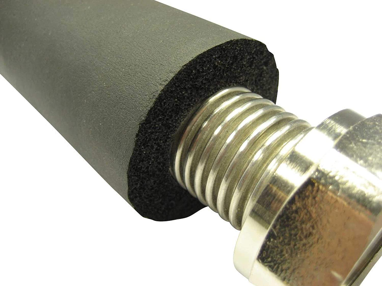 Rohrisolierung f/ür Edelstahlwellrohr f/ür DN12 bis DN32 Preis je lfm Gr/ö/ße:DN12-1//2 Zoll 13mm D/ämmung DIN1988 // Teil 7 hohe Qualit/ät gem