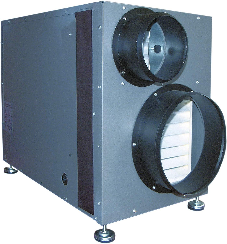 Ecor Pro Deshumidificador Doméstico con Ventilador de recuperación de calor LD800: Amazon.es: Hogar