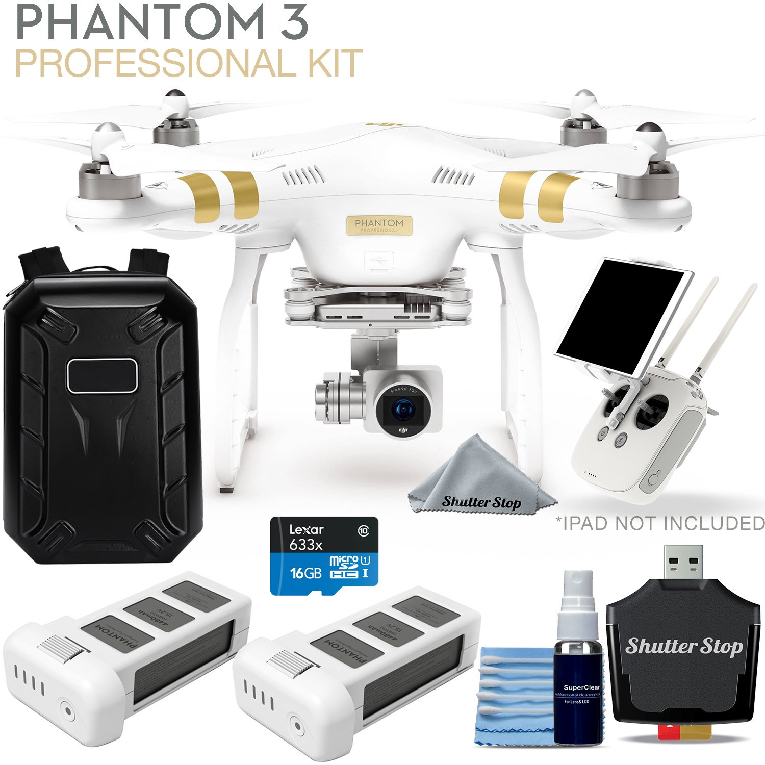 DJI Phantom 3 Professional Ultimate Kit