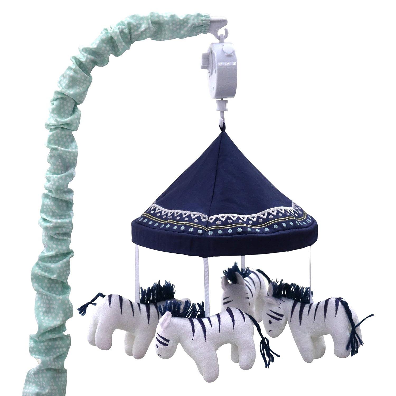 最安値に挑戦! Zebra Musical Mobile - Zebra From the Shell - Indio Crib Collection by The Peanut Shell by The Peanut Shell B01JM8GMBG, 風迎釣具:4440616f --- ballyshannonshow.com