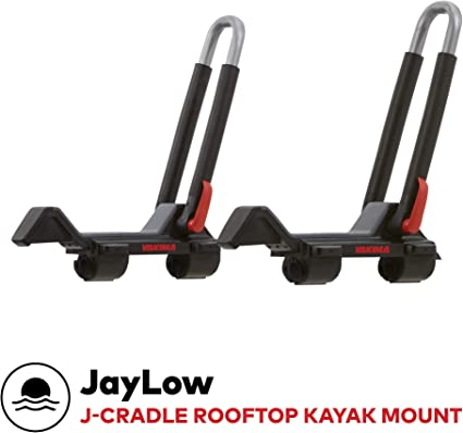 Yakima bowdown kayak portador de rack en la azotea-Juego de 2 inclinarse Plegable Thule Comp