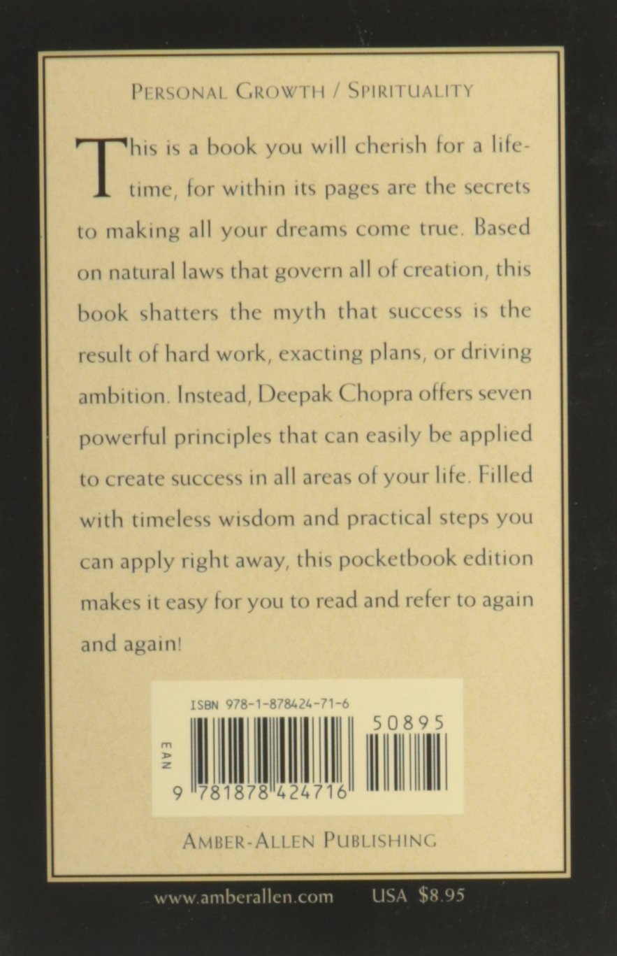 Deepak Chopra Seven Spiritual Laws Of Success Pdf