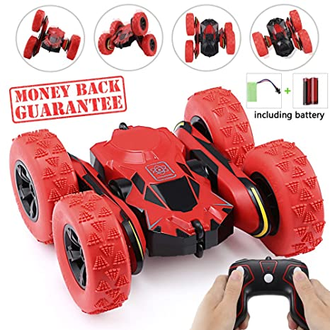 Toy Cars That You Can Drive >> Ansee Remote Control Car Rc Cars For Kids Stunt Car Off Road Radio Controlled Cars 2 4ghz 4wd 6ch High Speed Rechargeable 360 Degree Rotating Rc