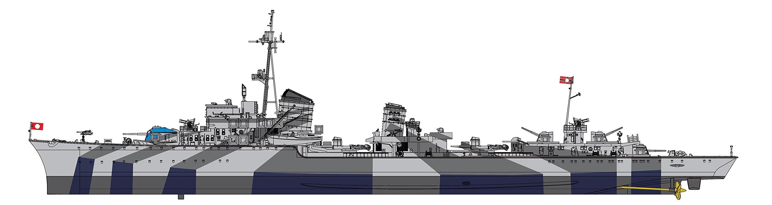 Dragon Models German Z-32 Destroyer Model Kit (1/350 Scale)