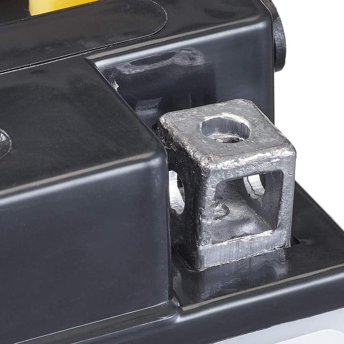 Accurat Motorrad-Batterie HYB16A-A AB S/äurepack WET Starterbatterie in Erstausr/üsterqualit/ät leistungsstark 16Ah 200A 12V Standard-Nassbatterie inkl